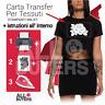 PAPEL TRANSFER A4 TEJIDOS IMPRIMIR INKJET transferibles camisetas t-shirt