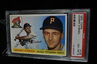 1955 Topps - Johnny O'Brien - #135 - PSA 8 - NM-MT