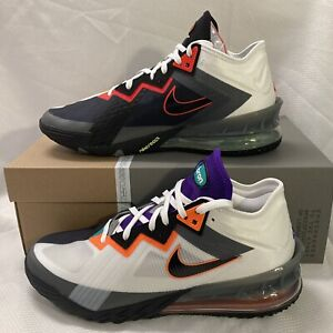 Nike Lebron 18 Low Air Max 95 Greedy Shoes CD5007 100 White Multi Color Sz 12
