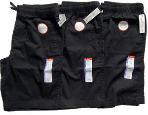 Wonder Nation Boys School Uniform Shorts Lot of Three Size XL (14-16) Husky