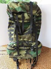 """Gregory SPEAR Woodland Camo Ruck Sack Military Style Special Ops """"MADE IN USA"""""""