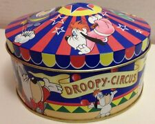 BOITE METAL COLLECTOR JEFF DE BRUGES // DROOPY CIRCUS 1998