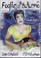 Dvd **FOGLIE D'AUTUNNO** con J. Crawford C. Robertson Nuovo sigillato 1956