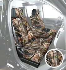Saddleman Front Bench/Backrest Seat Cover - Polyester(Camouflage), Chevy Colora