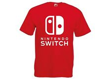 Nintendo Switch Logo Video Game Retro Zelda Gamer Console S-5XL T-Shirt/Tee