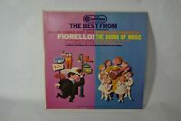 Best From Fiorello! & Sound of Music, RCA Camden Cal 599 A - Record 33 rpm LP