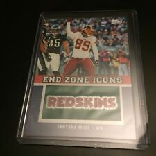 SANTANA MOSS 2011 Topps Manufactured Team END ZONE ICONS PATCH #EZI-77