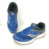 Saucony Grid Cohesion 10 Blue Running Shoes Blue Athletic Sneakers Mens Size 11