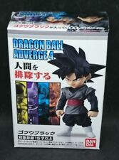 BANDAI DRAGON BALL Z Super ADVERGE 4 Mini Figure Goku Black NEW F/S