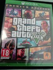 NEW Grand Theft Auto GTA V 5 PREMIUM EDITION  (XBOX ONE) New & Sealed