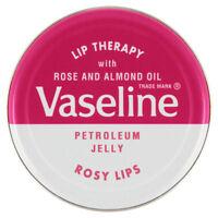 20g ORIGINAL VASELINE Lip Balm Therapy Petroleum Aloe Vera Cocoa Butter Rosy Lip