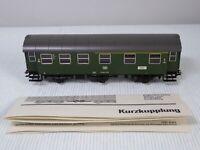 Marklin HO Gauge 4317 1st / 2nd Class 6 Wheel Passenger Coach German DB Livery
