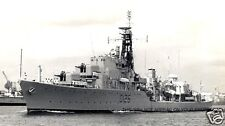ROYAL NAVY DARING CLASS DESTROYER HMS DIANA ENTERING SINGAPORE IN 1968