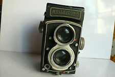 Rolleicord Vb 120mm TLR camera Sr 2671937 White Face 75mm f3.5 Xenar lens