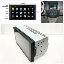 Car HD 2 DIN Touch Screen GPS Navigation Radio Stereo Audio Player Bluetooth RDS