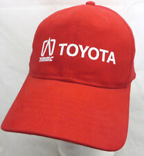 Toyota TMMC baseball cap hat adjustable red buckle