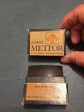 "Vintage Boxed ""Metior"" Black Walnut Tape Measure—JK Adams—Dorset, VT"