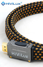 HiViLux Referenz SCC Flach HDMI Kabel 5m HighSpeed 3D/4K ARC PS3 XBOX 360 DVB-T2