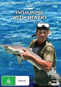 The Crocodile Hunter - Swimming With Sharks : Vol 7 (DVD, 2007)  Region 4