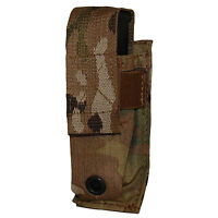 ATS Tactical MOLLE Single Pistol Mag Pouch-Multicam-Coyote-Ranger-Black-Wolf