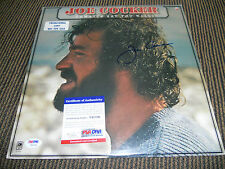 Joe Cocker Jamaica Say You Will Signed Autographed Album LP Record PSA Certified