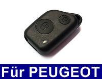 2Tasten Ersatz Schlüssel Fernbedienung Gehäuse für Peugeot 106 206 306 405 406