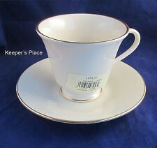 Lenox HAYWORTH COSMOPOLITAN Cup & Saucer Gold Trim 8 Available New
