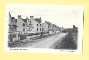 NAIRN - SEABANK ROAD - OLD PRE 1919 ANTIQUE POSTCARD - NAIRNSHIRE, SCOTLAND