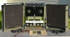 RARE Concertone Series 800 Reel to Reel Stereo Tape Recorder w/ Speakers
