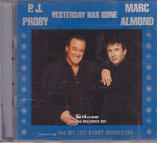PJ Proby&Marc Almond-Yesterday Has gone cd maxi single