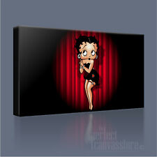 BETTY BOOP CLASSIC RETRO-MODERN CARTOON ICONIC CANVAS PRINT PICTURE Art Williams