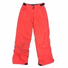 Columbia Sportwear Omni Shield Neon Ski Insulated Pants Girls Youth Size 14 / 16