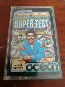 Daley Thompson's Supertest - Amstrad CPC/Schneider Ocean 1985 Tested/Working
