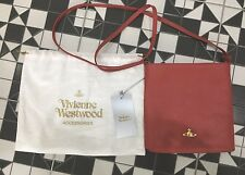 BNWT Vivienne Westwood Leather Shoulder Bag 100% AUTH RRP £250