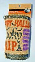 Halloween Fall Printed Wrap Burlap Ribbon 9ft