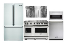 "Viking Kitchen Package With 48"" Gas Range & Sharp Microwave Drawer."
