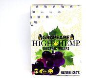 High Hemp Grape Ape Organic Wraps Box 25 Pack - 2 Wraps ea GMO Tobacco Free