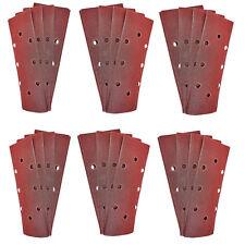 1/3 Sander fogli abrasivi 30 x P120 Grit 93 x 230mm MURO DI LEGNO superficie del pavimento