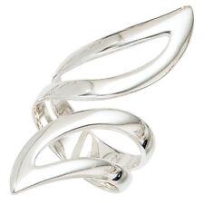 Ringe ohne Steine im Band-Stil aus echtem Edelmetall mit 54 (17,2 mm Ø)