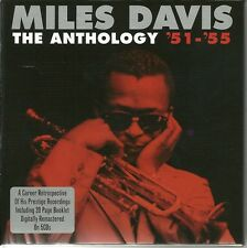 MILES DAVIS THE ANTHOLOGY '51-'55 - FIVE CD BOX SET INCLUDES BOOKLET
