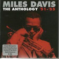 MILES DAVIS THE ANTHOLOGY '51-'55 - FIVE CD BOX SET INCLUDES BOOKLET