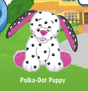 Webkinz Polka Dot Puppy Virtual PET Adoption Code Only Messaged Webkinz Polka !!