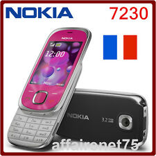 Téléphone Portable Nokia 7230 Bluetooth FM JAVA 3.15MP Débloqué Neuf