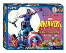 Marvel dado Masters Avengers Infinity Campaña caja