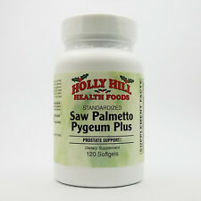 Holly Hill Health Foods, Standardized Saw Palmetto Pygeum Plus, 120 Softgels