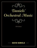Daniels' Orchestral Music, Hardcover by Daniels, David, Brand New, Free shipp...