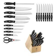 **NEW** ZWILLING J.A. Henckels TWIN Signature 19 PC Knife Block Set