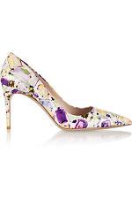 Miu Miu Jewel-print patent-leather pump shoes EU39.5 UK 6.5 US9.5