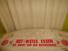 """Rot Weiss Essen Fan Seiden Schal """"ROT WEISS ESSEN DIE MACHT VON DER HAFENSTRASSE"""