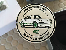 PORSCHE OFFICIAL FACTORY 911 CARRERA RS 2.7 1973 GRILL BADGE #641 BROCHURE 2015